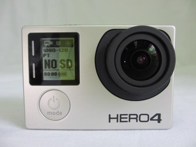 <中古>GoPro CHDHX-401-JP ウェアラブルカメラ HERO4 ブラックエディション アドベンチャー