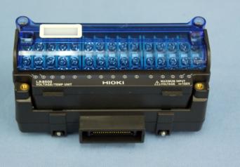 日置電機 LR8500 電圧・温度ユニット