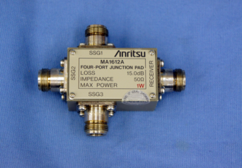 アンリツ MA1612A 三信号特性測定用パッド
