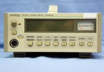アンリツ 光パワーメータ― ML9001A