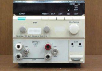菊水電子 PMM18-2.5DU 直流安定化電源
