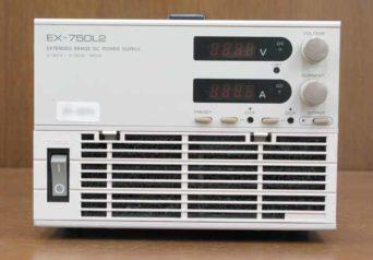 高砂製作所 ズーム直流電源 EX-750L2