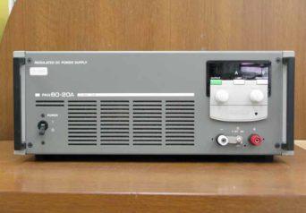 菊水電子 PAN60-20A 直流安定化電源