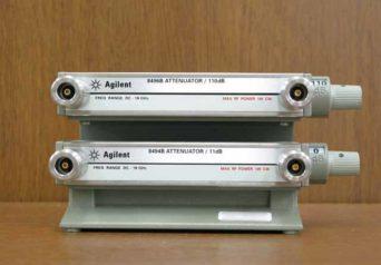 アジレント ステップアッテネータ 8494B+8496B