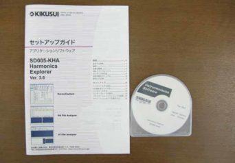 菊水電子 SD005-KHA KHA1000用アプリケーション