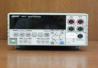 ADCMT 7451T デジタル・マルチメータ