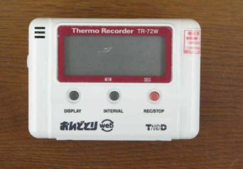 ティアンドディ TR-72W 温湿度データロガー
