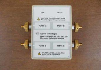 アジレント 4ポートRF電子校正(ECal)モジュール N4431-60006