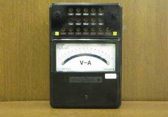 横河計測 2012-00 直流電圧電流計