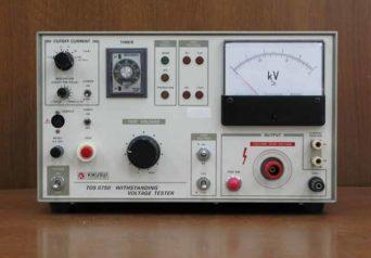 菊水電子 AC/DC耐圧試験器 TOS8750
