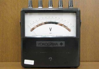 横河計測 2011-40 携帯用直流電圧計