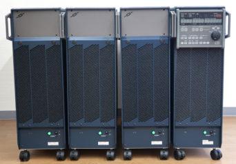 エヌエフ回路設計ブロック ES2000U/ES2000P/ES2000B×2 電源環境シミュレータ ESシリーズ用2kVA三相マスタ/スレーブ/ブースタ×2