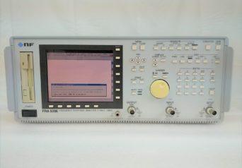 エヌエフ回路設計ブロック FRA5096/PA001-0373 周波数特性分析器