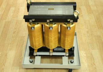 治部電機 NH-LO.136mH-1000V380A-250Hz/413SA-R75×2+420SA-R75×2 三相交流リアクトル