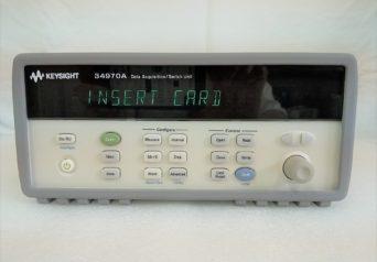 KEYSIGHT 34970A データ収集/データロガー・スイッチ・ユニット