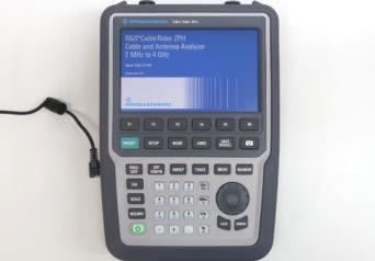 ローデ・シュワルツ ZPH/B4/FSH-Z29/FSH-Z320/HA-Z321/HA-Z322-02/ZN-Z103 ケーブル・アンテナ・アナライザ