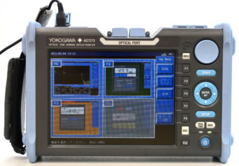 横河電機 735034-USC-HJ-M/PM/SLS/SB/SU2005A-SCC×2(AQ7275) OTDR