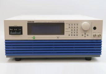 菊水電子 PLZ6000R 電子負荷装置