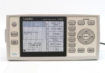 リーダー電子 LF965/70/MP-500A/RC60G-12D シグナルレベルメータ