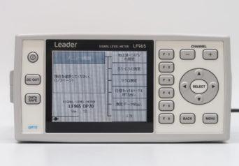 リーダー電子 LF965/70/MP-500A/RC60G-12D(モードスイッチ無し) シグナルレベルメータ